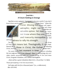 Introduction for an audacious future