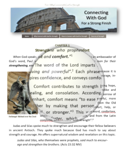 Introduction page to Why Connect with God for strength