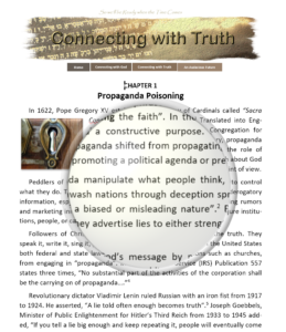 Introduction for connecting with truth